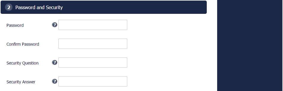 Форма за регистрация от Pinnacle - 3
